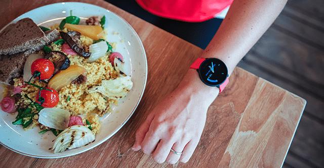 Fit ohne Sport - Abbildung einer ausgewogenen Mahlzeit/Fit ohne Sport