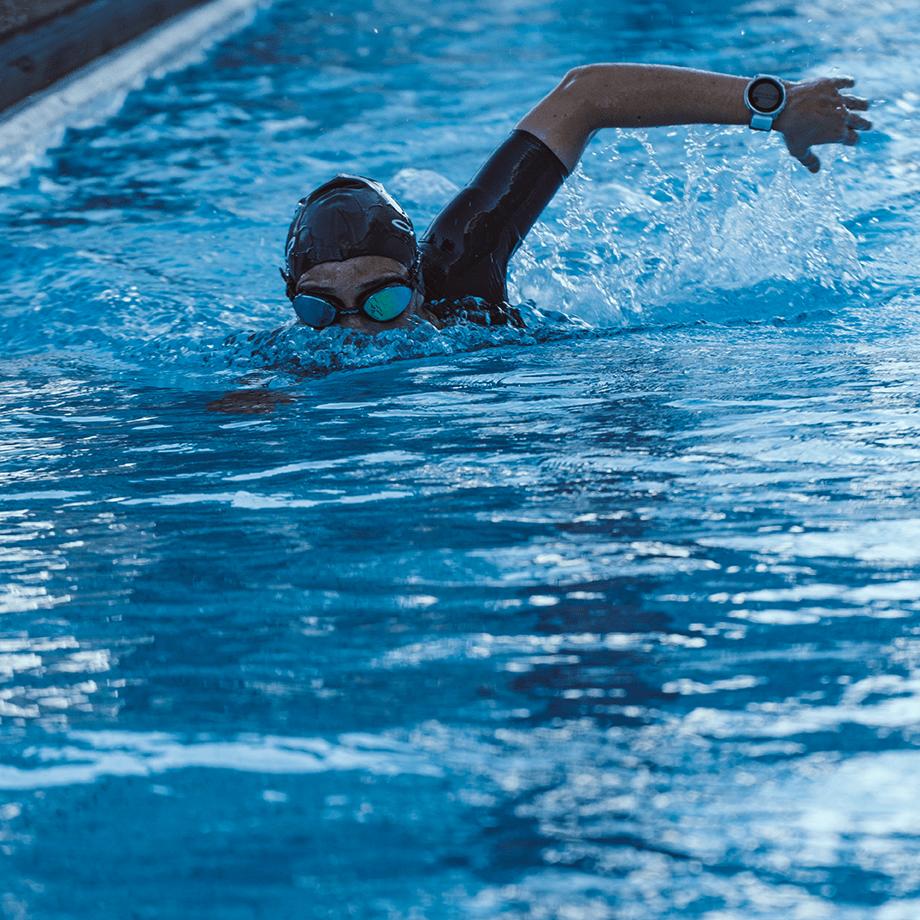 Sara Carmona, natación