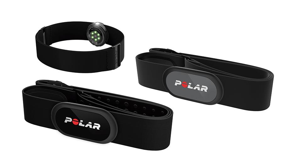 Sensores de frecuencia cardíaca Polar H9, Polar H10 y Polar OH1