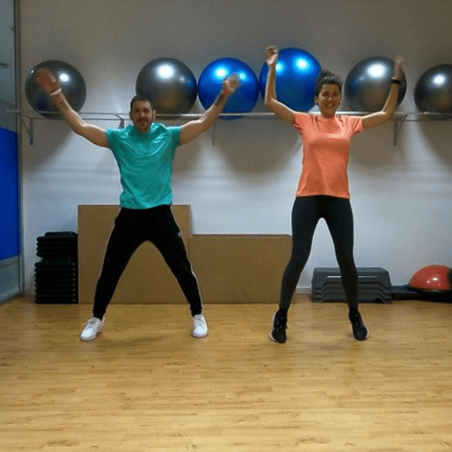 Jumping Jacks, ejercicios para entrenar en pareja