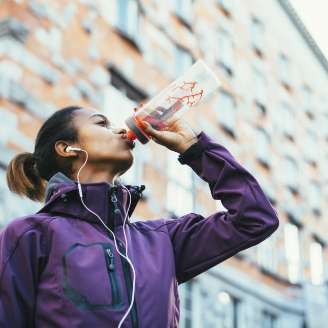 Failing to stay hydrated can result in an increase in heart rate.