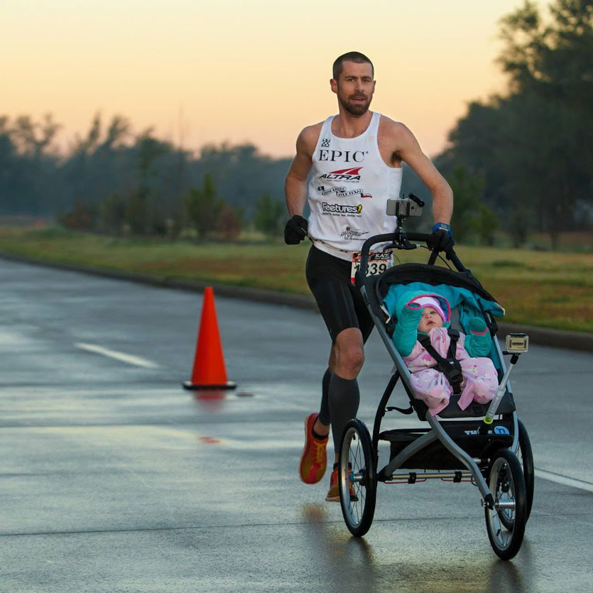 Setting a World Record Half Marathon with Stroller in 1:11:27