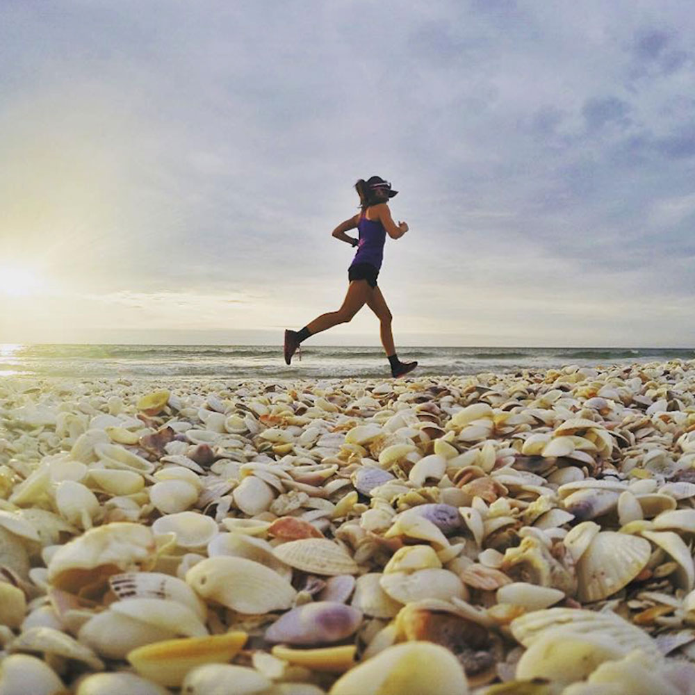 We've followed your advice and run at Sanibel Island in Florida this morning. #neverstopexploring