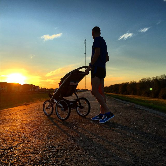Stroller running is about keeping it fun
