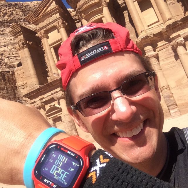Running at Petra