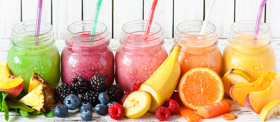 Smoothies, the healthy snack