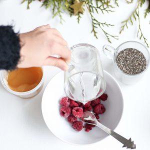 Raspberry Chia Jam ingredients 2