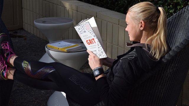 Emilia reading