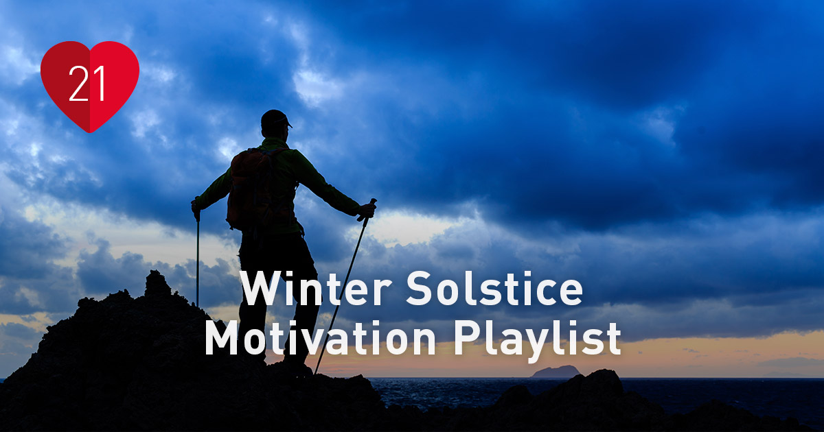For the long night winter solstice motivation playlist polar blog