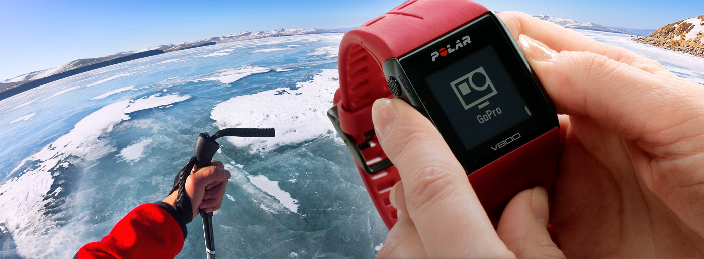 Polar V800 + GoPro | Remote control out now