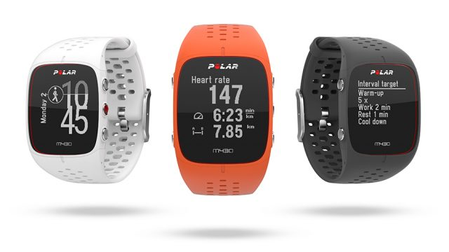 Polar M430 GPS running watch colors