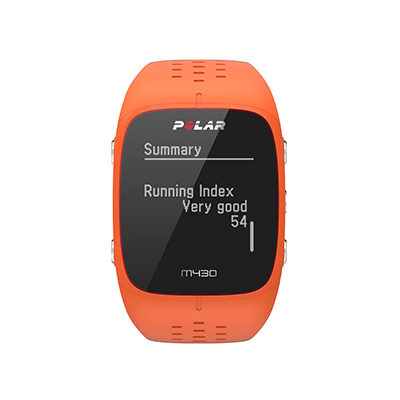 Running Index on the Polar M430