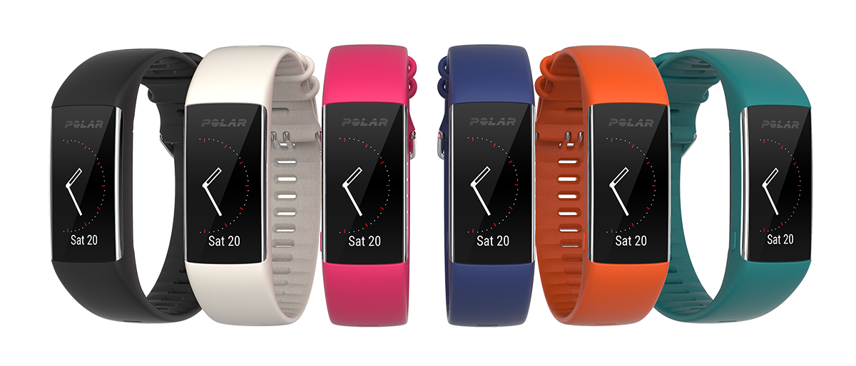 Polar A370 available in 6 colors