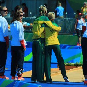 Katie Kelly Rio Olympics Podium