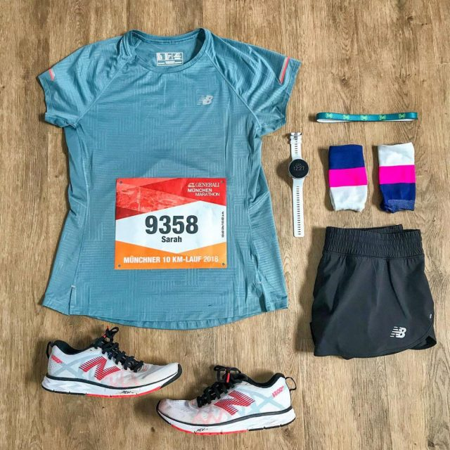 Organize everything you will need on the race day on the night before the race