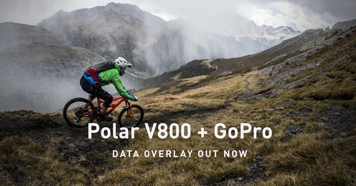 Polar V800 + GoPro | Data overlay out now | Polar Blog