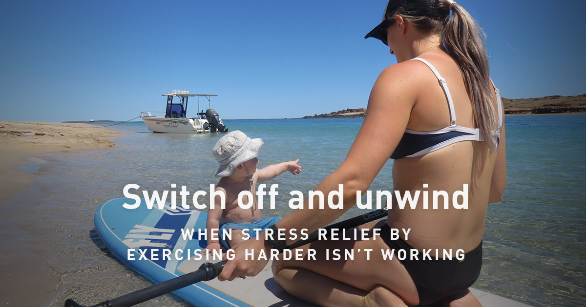 why is exercise good for stress relief