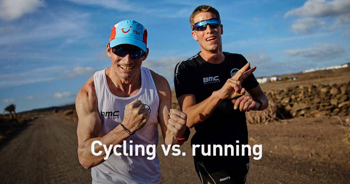 Cycling Vs Running Fierce Competitors Or The Ultimate Training