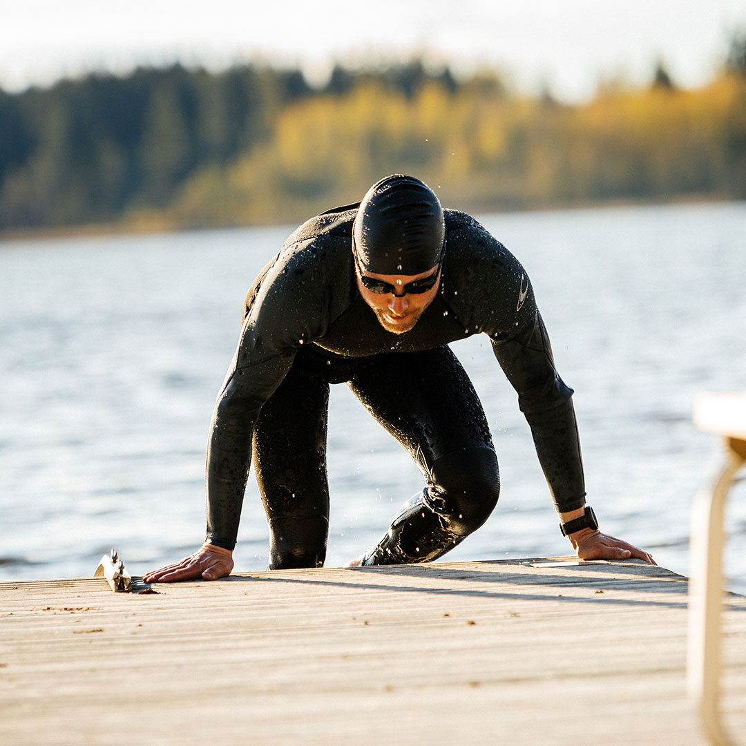 Swimming is a beneficial form of cross-training for runners.