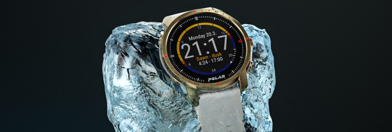 Polar Grit X Pro with Always-On Outdoor Dashboards