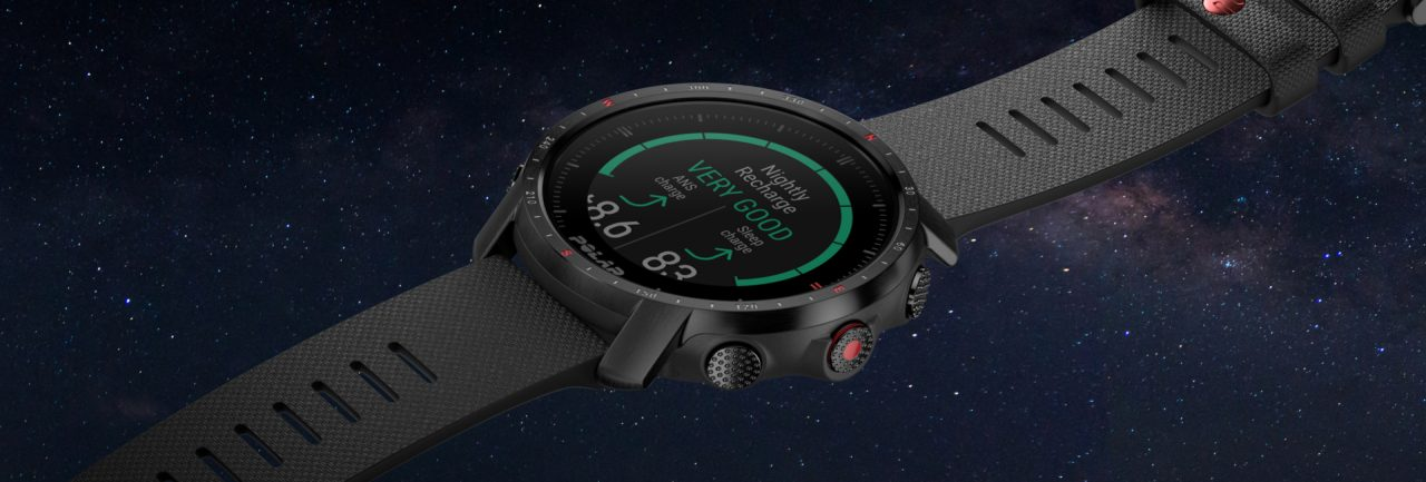 Polar Grit X Pro with Automatic Sleep & Recovery Apps