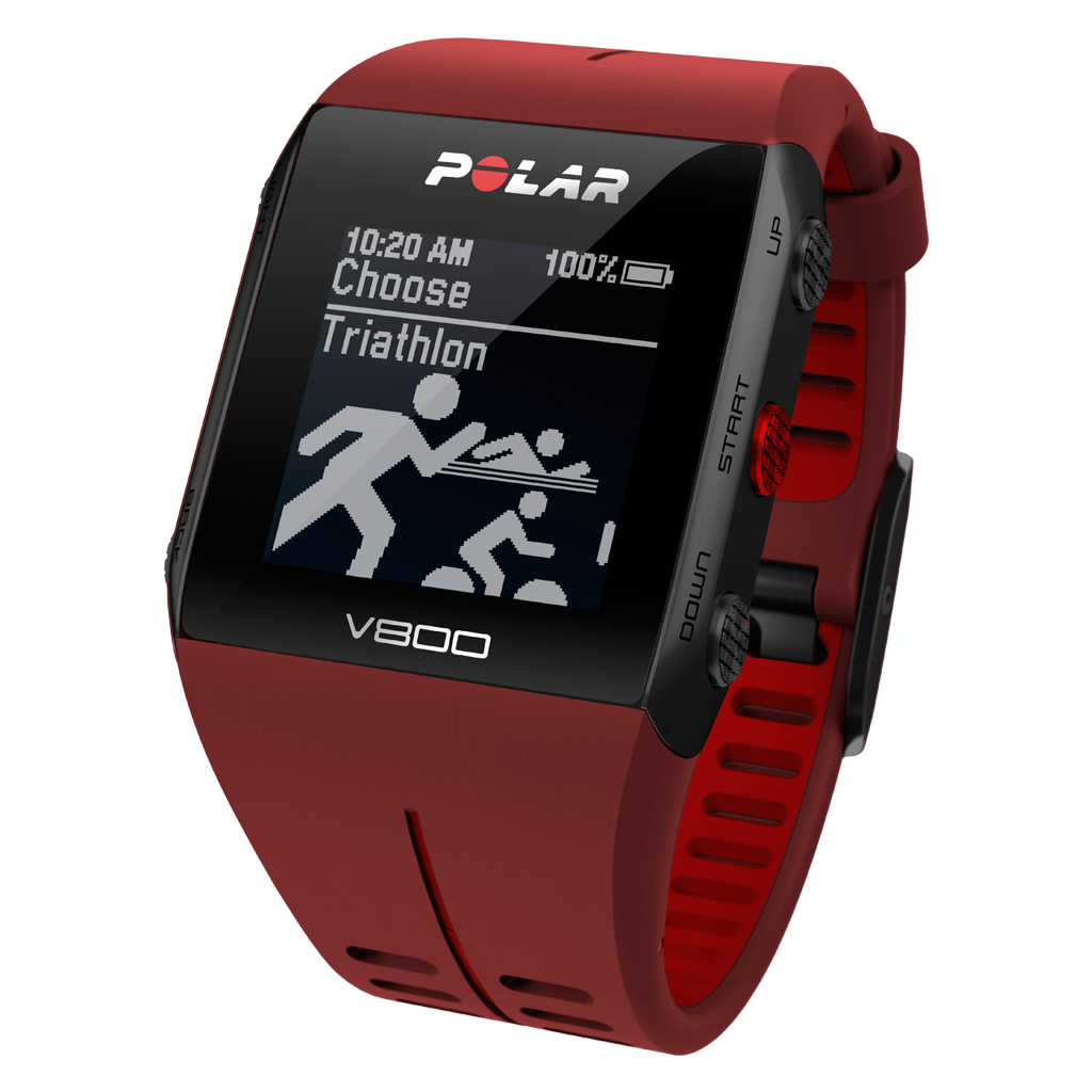 POLAR V800 JAVI GOMEZ NOYA SPECIAL EDITION RED