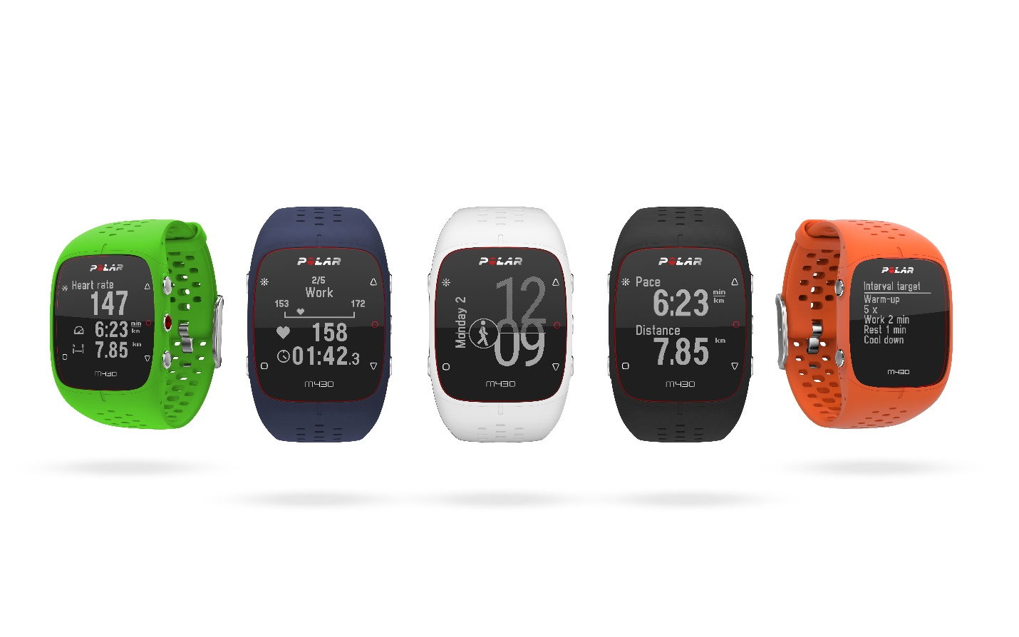Polar Releases Limited Edition Green Polar M430 GPS Running Watch and New Dark Blue Option