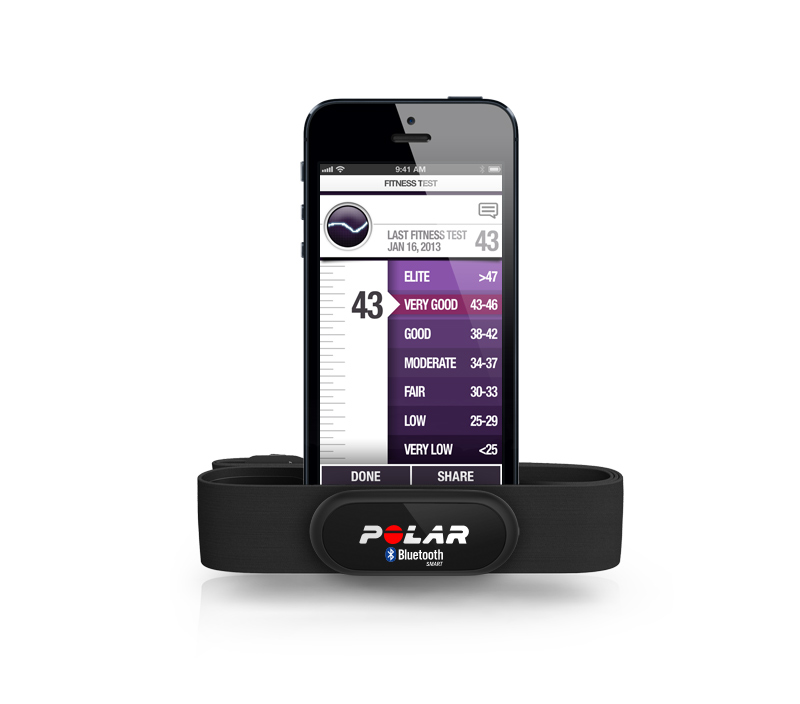Polar Beat and H6 Heart Rate Sensor