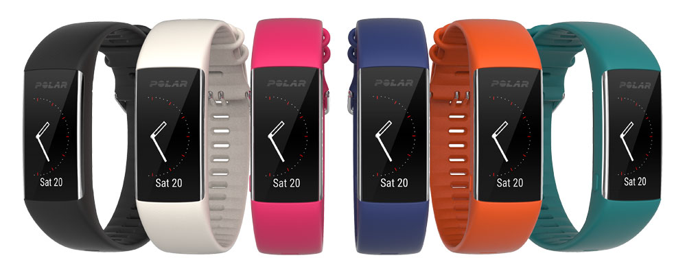 polar a370 wasserdichter fitnesstracker mit pulsmessung. Black Bedroom Furniture Sets. Home Design Ideas