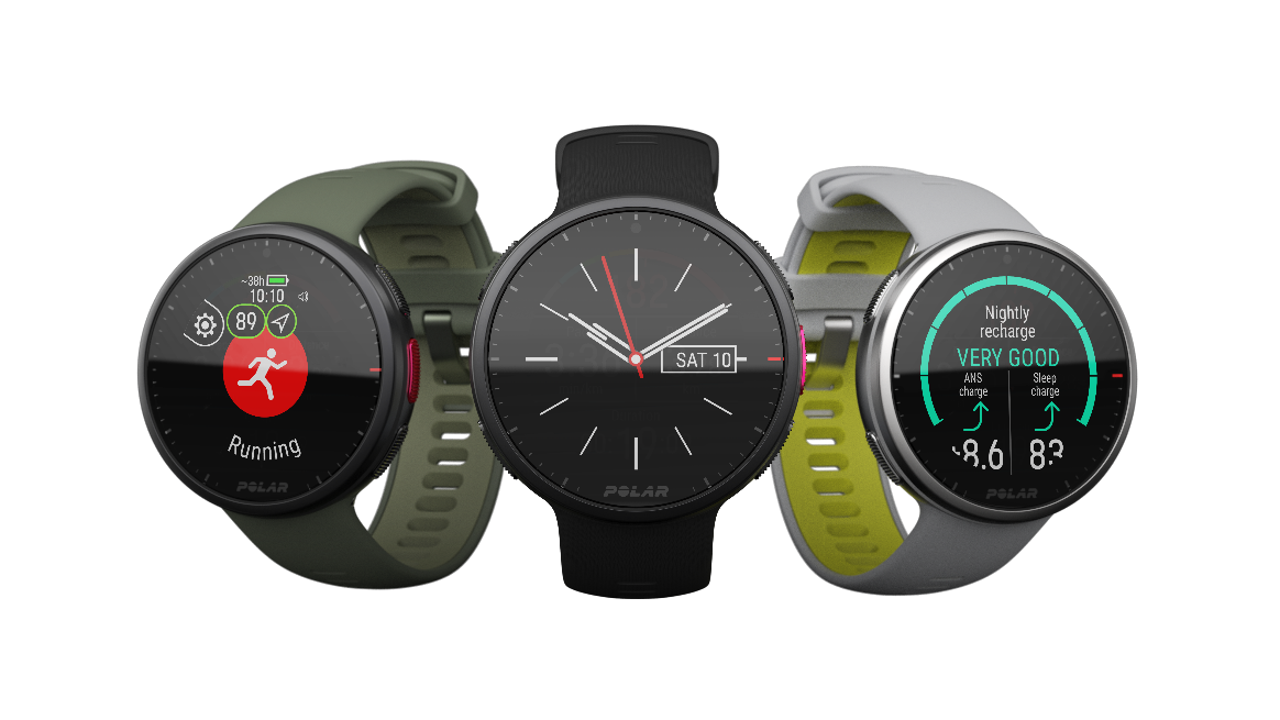 The New Polar Vantage V2 - Knowledge is Progress  Lightweight premium multi-sport watch designed for better performance and recovery
