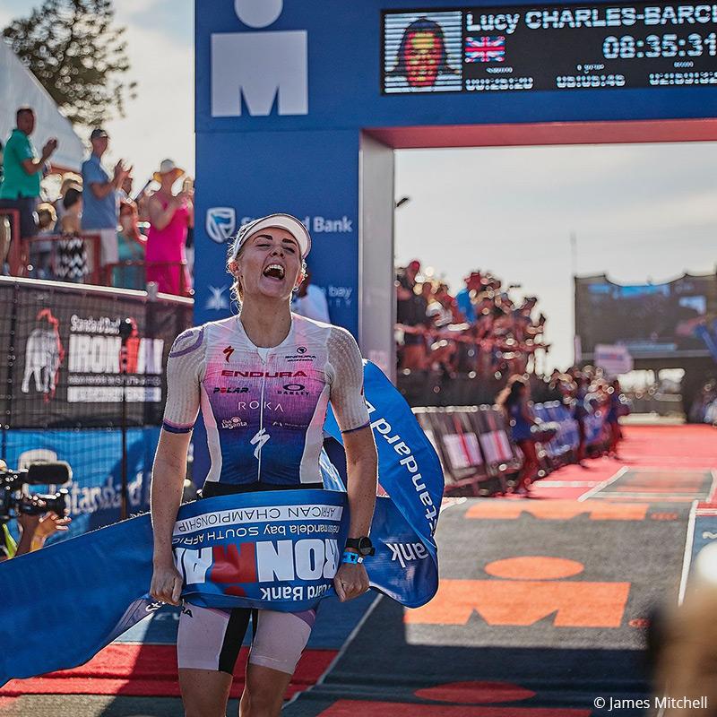Polar teams up with the triathlon star Lucy Charles-Barclay