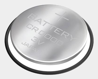 Conjunto de pilha para sensores de passada de corrida