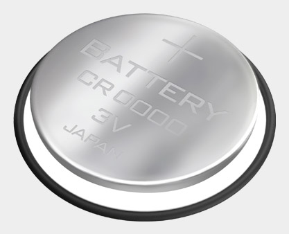 Battery set for s3 and s3+ stride sensors™ W.I.N.D.