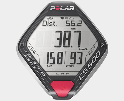 CS500+ Cycling Monitor