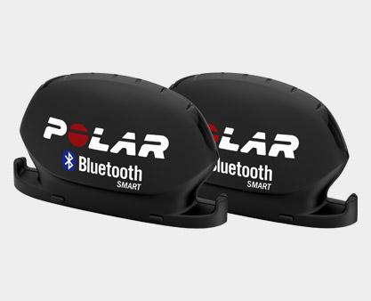 Sada, obsahující snímač rychlosti Bluetooth® Smart a snímač kadence Bluetooth® Smart