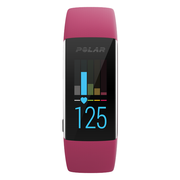 Polar A370 Waterproof Fitness Tracker With Heart Rate Monitor