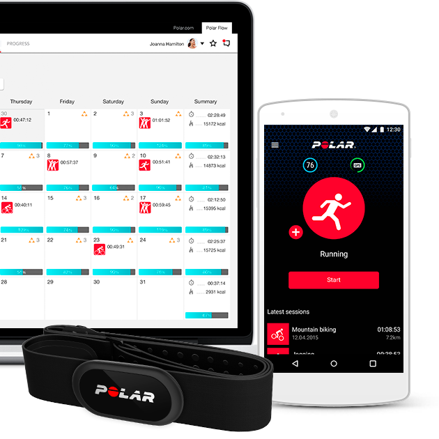 Free fitness and training app   For iOS and Android   Polar