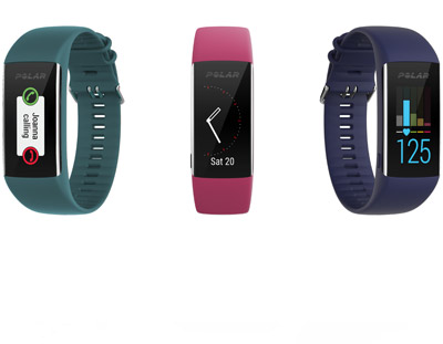 polar a370 water resistant fitness tracker with heart rate monitor