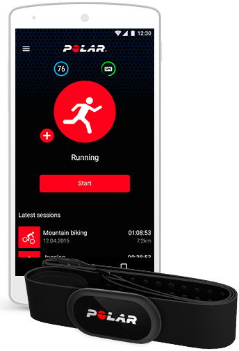 Free fitness and training app | For iOS and Android | Polar