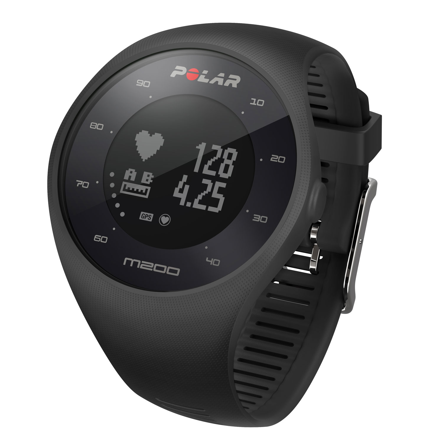 new concept 50b1f 3f3f1 Polar M200 sports watch for running with 24 7 activity tracker
