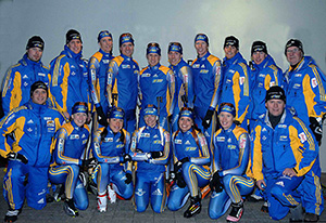 Swedish National Biathlon Team