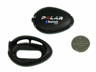Using Polar Stride sensor Bluetooth® Smart